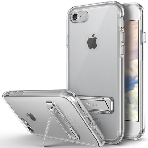 OBLIQ iPhone 7 Case Naked Shield Kickstand Clear