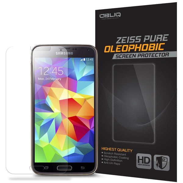 OBLIQ Galaxy S5 Screen Protector Zeiss Pure Oleophobic 1PK