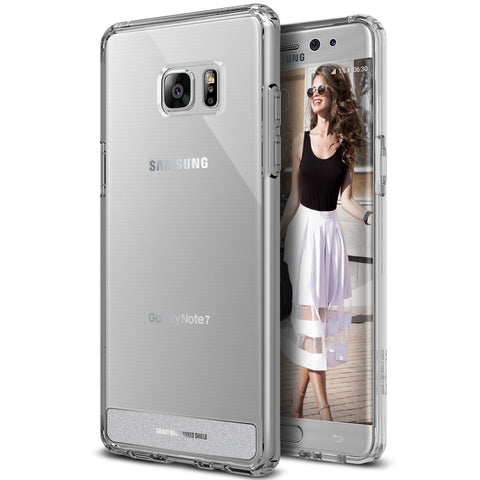 OBLIQ Galaxy Note 7 Case Naked Shield Clear