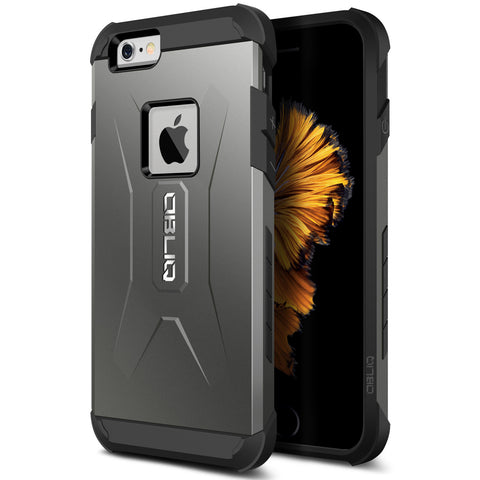 OBLIQ iPhone 6 Case Xtreme Pro Gun Metal