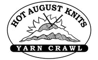 Hot August Knits Yarn Crawl at Cowgirl Yarn