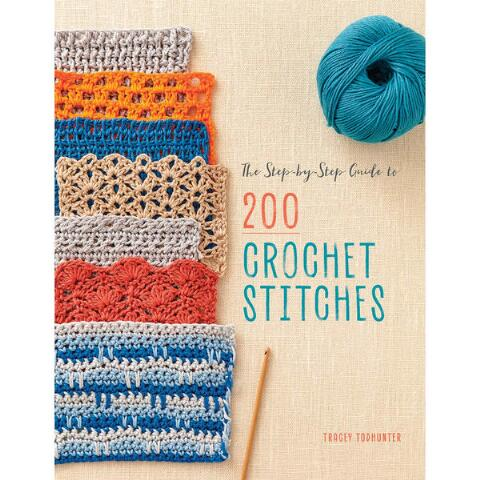 200 Crochet Stitches Step by Step Guide