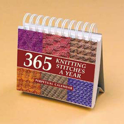 365 Knitting Stitches A Year
