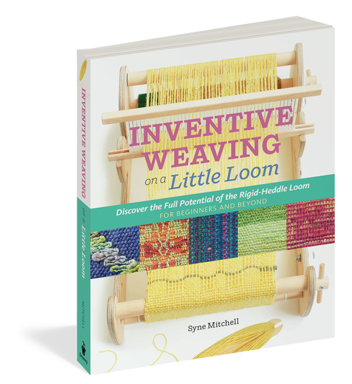 Inventive Weaving On Little Loom