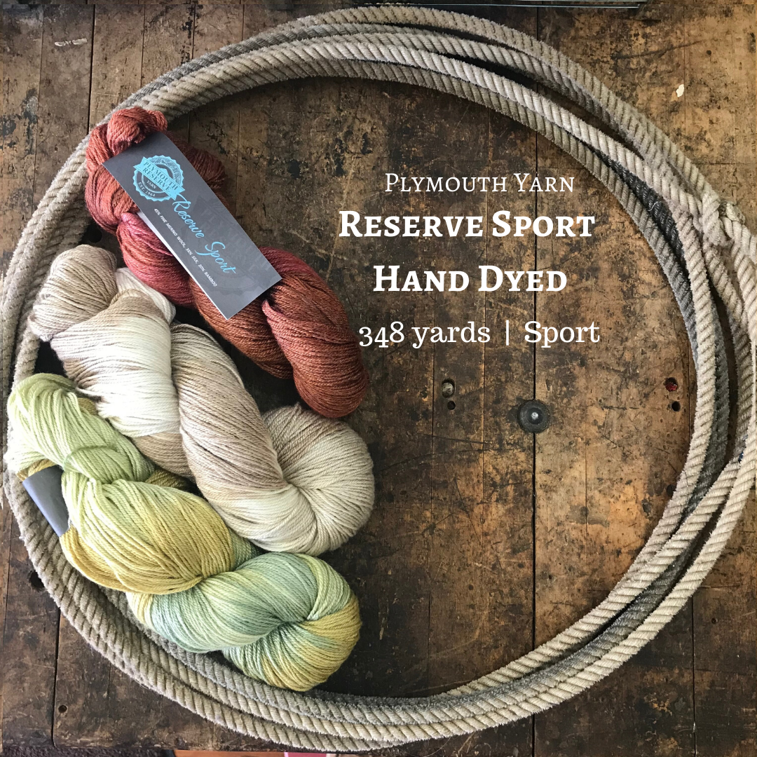 Plymouth Yarn Select Reserve Sport Hand Dyed