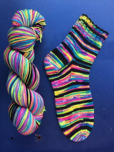 Artistic Yarn By Abi Sock