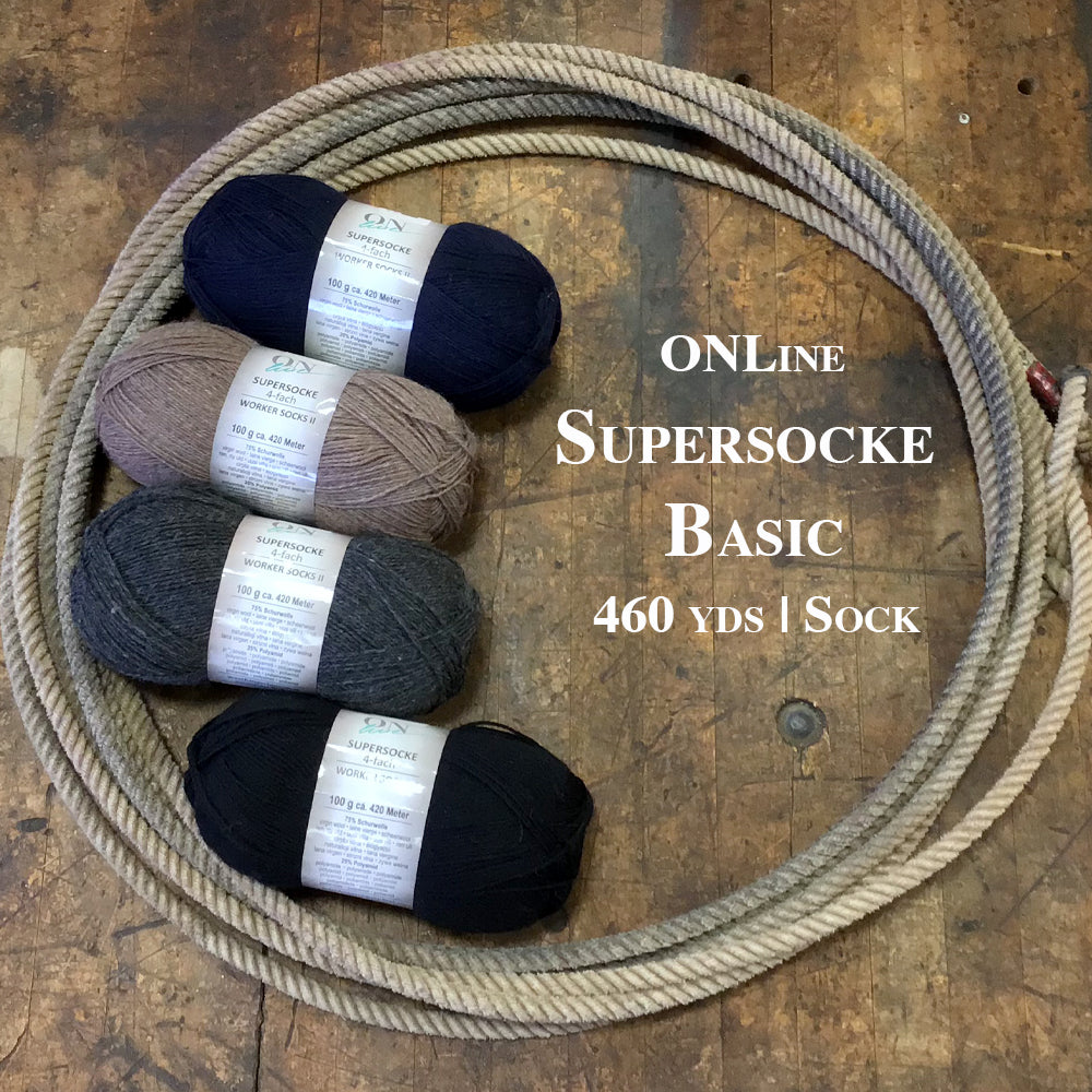 OnLine Supersocke 4-Fach Basic Sock