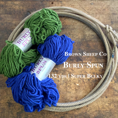 Brown Sheep Burly Spun