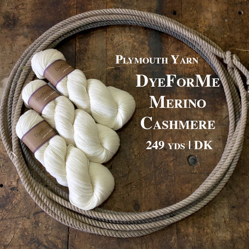 Plymouth Yarn Dye for Me Merino Cashmere