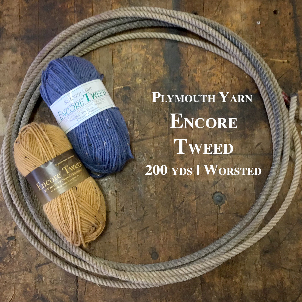 Plymouth Yarn Encore Worsted Tweed