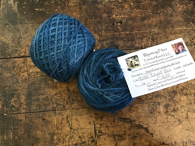 Tronstad Ranch Hand Painted Rambouillet 2 Ply Worsted Weight Yarn BOLD
