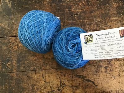 Tronstad Ranch Hand Painted Rambouillet 2 Ply Worsted Weight Yarn BRIGHT