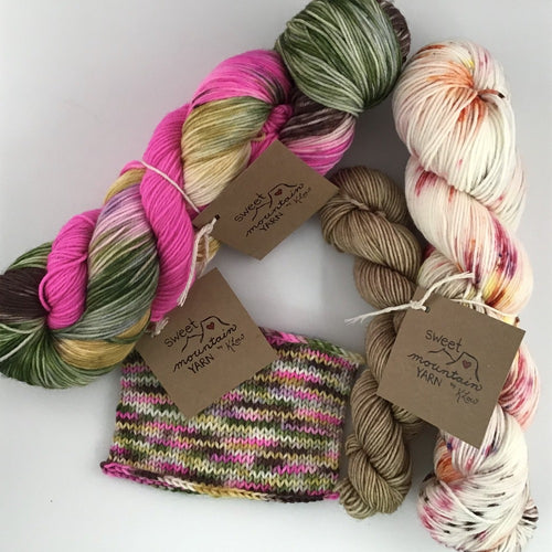 Sweet Mountain Yarn Sock Set