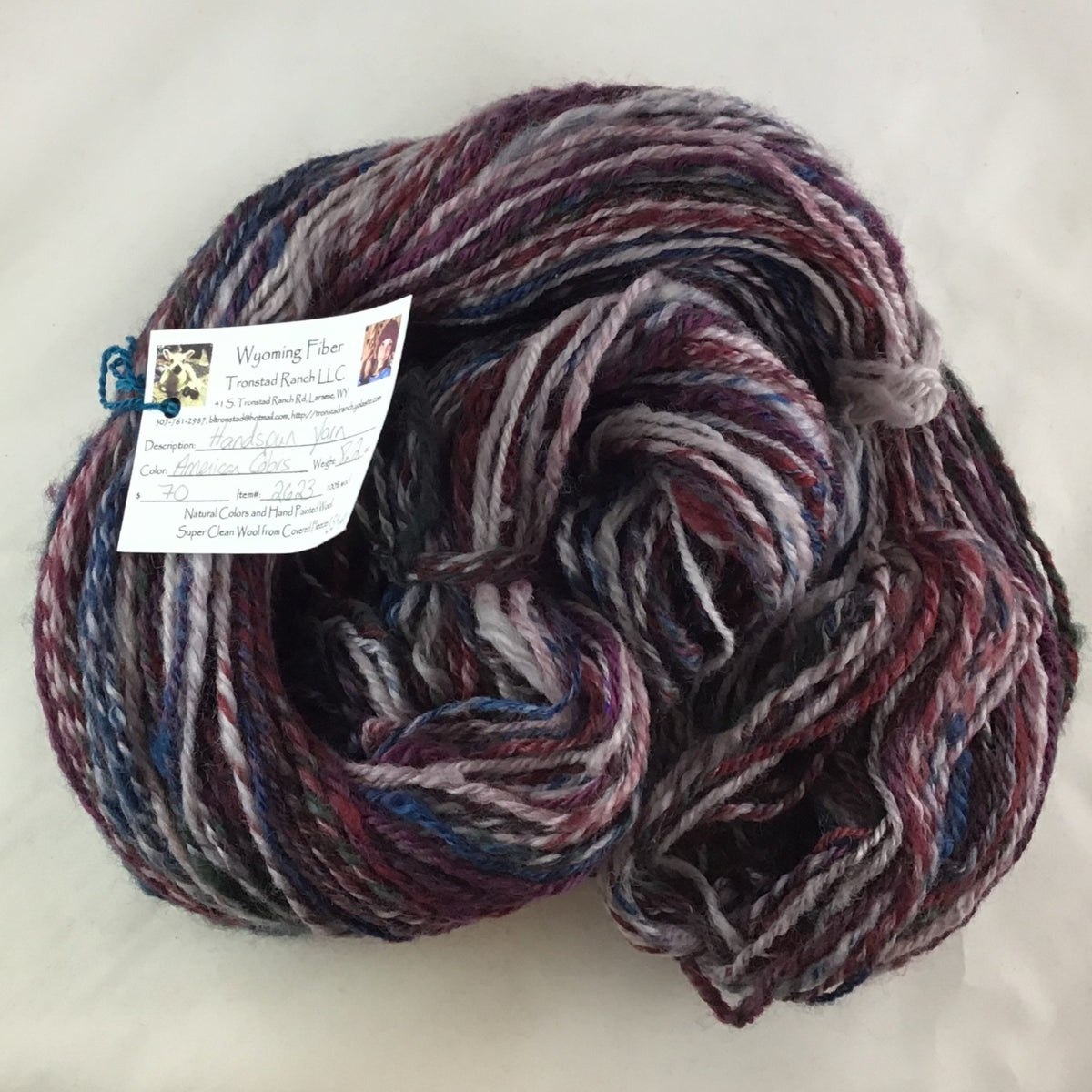 Tronstad Ranch Handspun American Colors