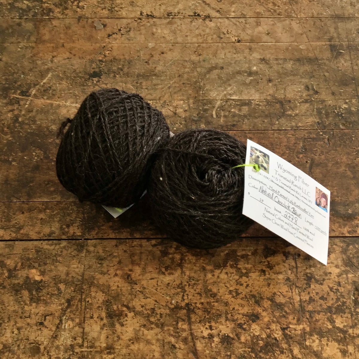 Tronstad Ranch Hand Painted Rambouillet 2 Ply Worsted Weight Yarn