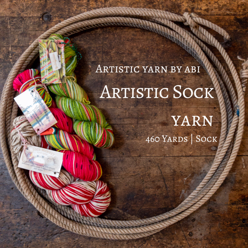 Artistic Sock Yarn By Abi