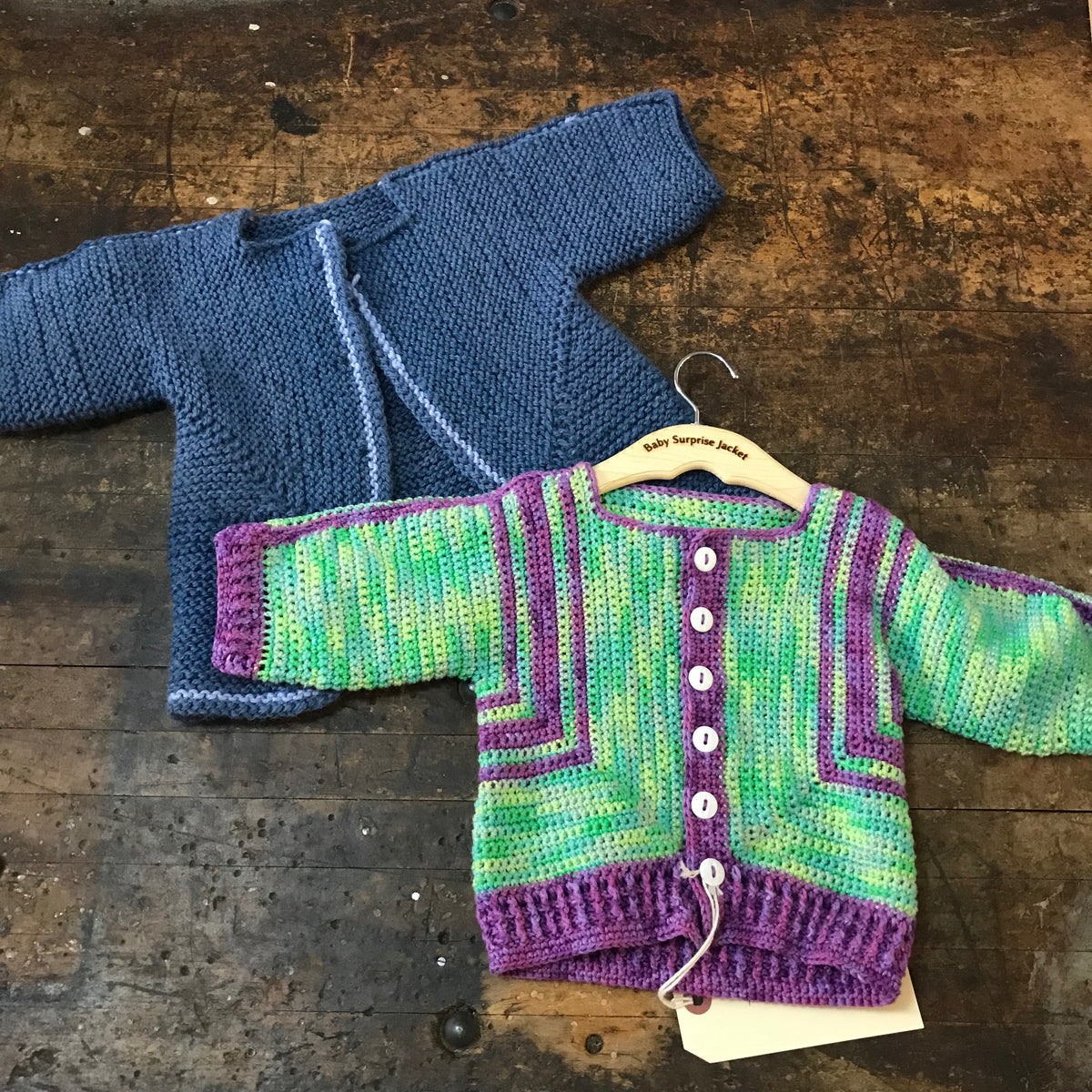 Baby Surprise Jacket Class KNIT OR CROCHET October