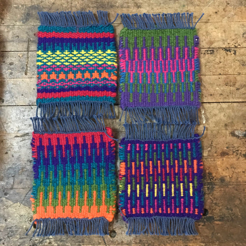 Krokbragd Rigid Heddle Weaving Class--Sunday October 6 9:30am-3pm