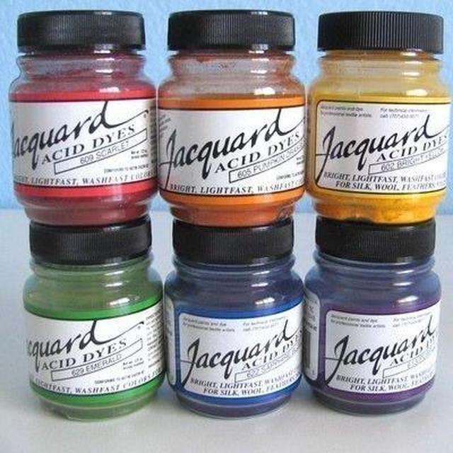 Jacquard Acid Dyes 1/2oz-14g