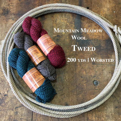 Mountain Meadow Wool Tweed