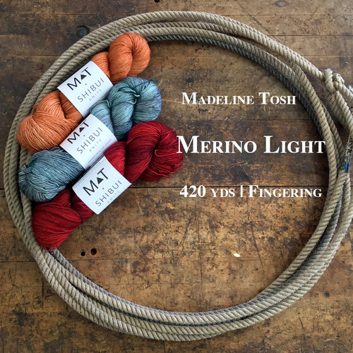 Mad Tosh Merino Light / Shibui Knits Collaboration