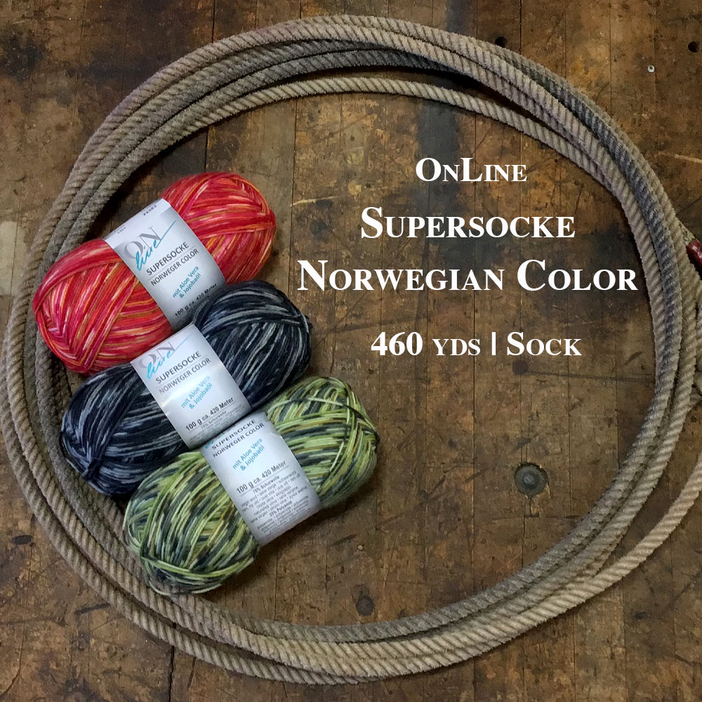 Online Supersocke Norwegian Color