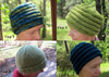 For people modeling different styles of knitted hats