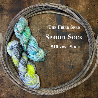 The Fiber Seed Sprout Sock