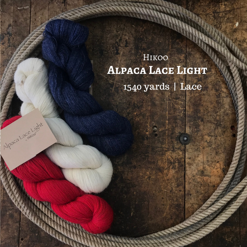 HiKoo Alpaca Lace Light