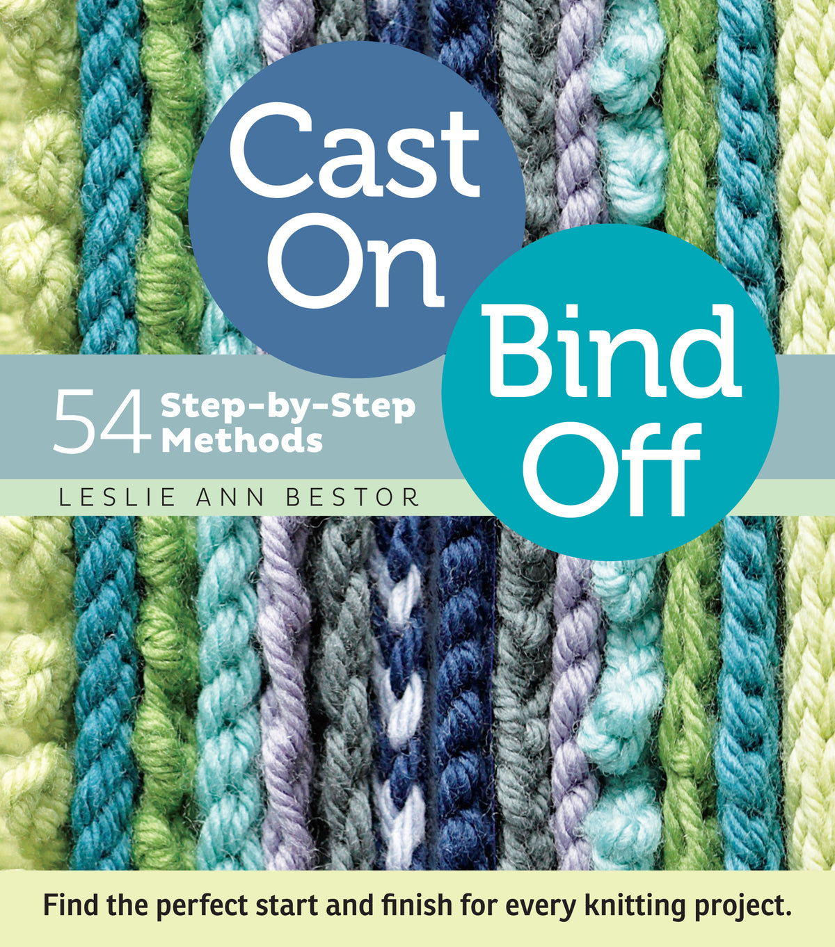 Cast On Bind Off - 54 Methods
