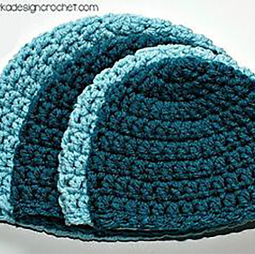 Begin to Crochet in the Round--Hat--2/5 2019 5:30-7pm