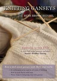 Knitting Gansey DVD