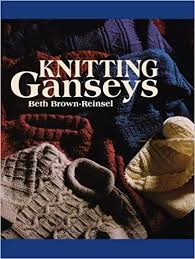 First Edition Knitting Ganseys- Paperback