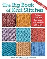 The Big Book of Knit Stitches, 8 blocks of knitted patterns