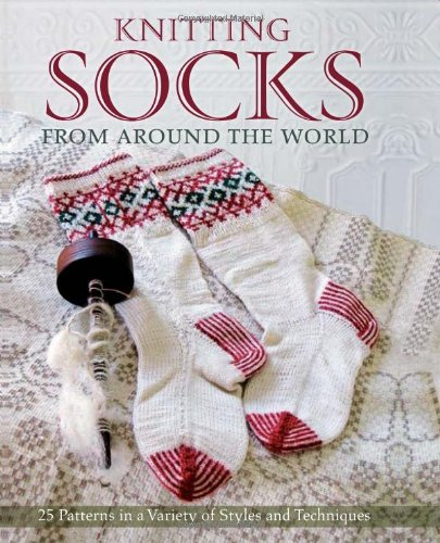 Knitting Socks from Around the World - hardback