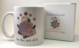 KnitBaahPurl Mug For The Zen Of It