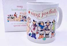 KnitBaahPurl Mug Sing Joyfully 2019 Special Edition