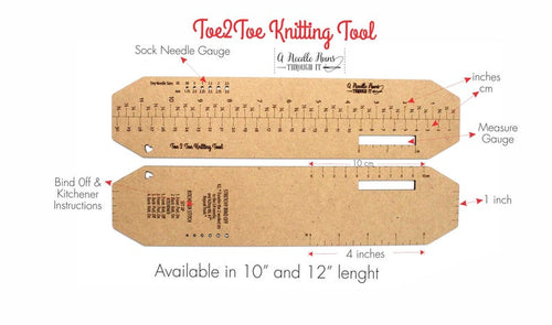 Toe2Toe Sock Knitting Tool