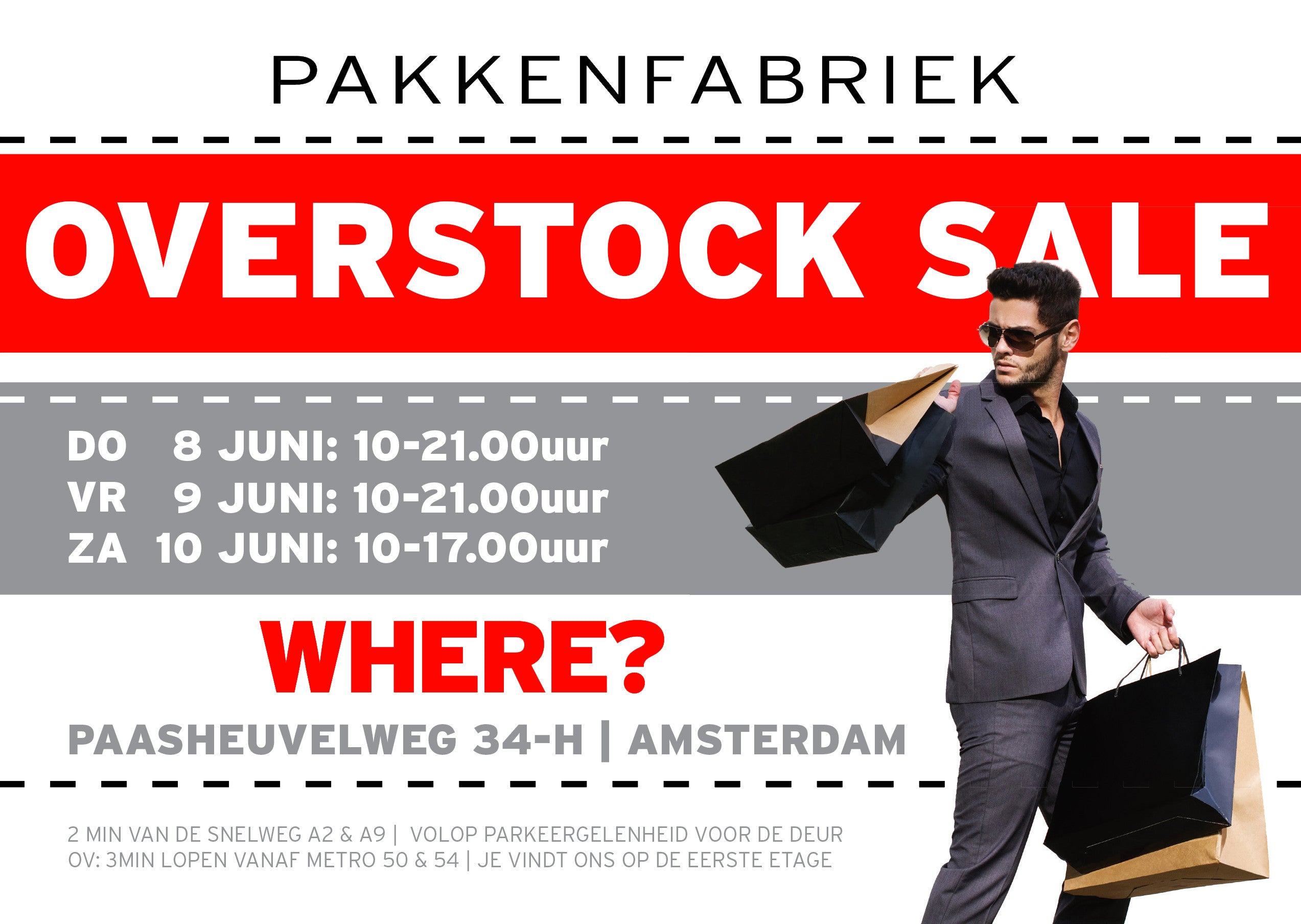 Overstock Sale in Amsterdam