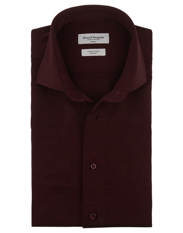 Bordeaux Knitted Shirt