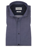 Business Shirt  Donker Blauw