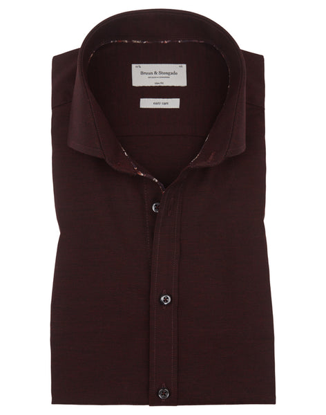 Business Shirt Bordeaux