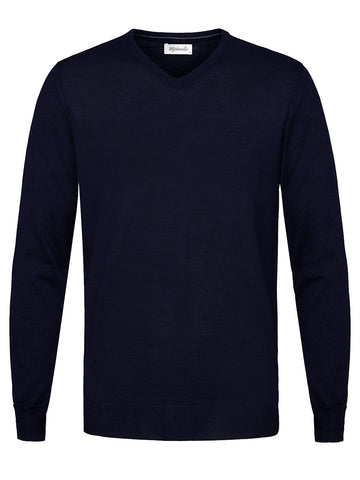 PMPJ100012 pullover antraciet acryl wol getailleerd trui slanke pasvorm Shirtdeal Michaelis