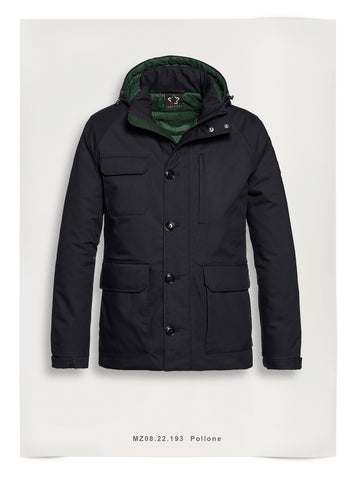 Fortezza Winter Jas Navy