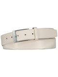 Riem Off white Leer