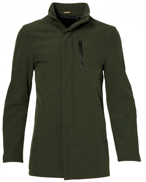 Softshell Jas Forest Green
