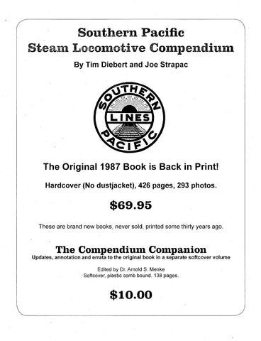 Southern Pacific Steam Locomotive Compendium