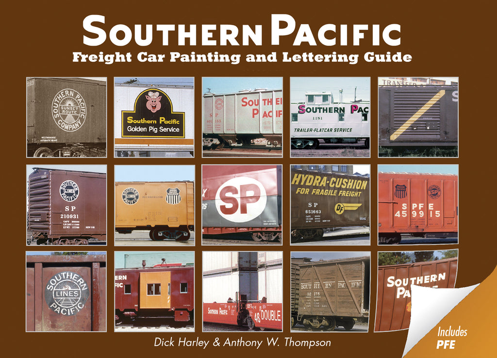 Southern Pacific Freight Car Painting and Lettering Guide