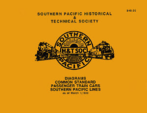 Common Standard Passenger Car Diagram Book 1933