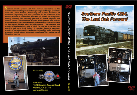 DVD Southern Pacific 4294, The Last Cab Forward